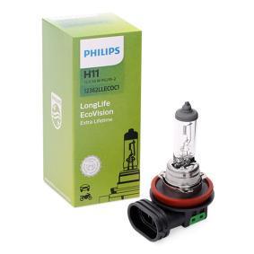 Bulb, spotlight H11, 55W, 12V 12362LLECOC1