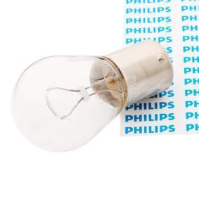 Крушка с нагреваема жичка, мигачи P21W, BA15s, 12волт, 21ват 12498CP
