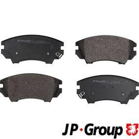 Brake Pad Set, disc brake Thickness: 19,1mm with OEM Number 1605186