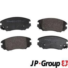 Bremsbelagsatz, Scheibenbremse Dicke/Stärke: 19,1mm mit OEM-Nummer 1605185