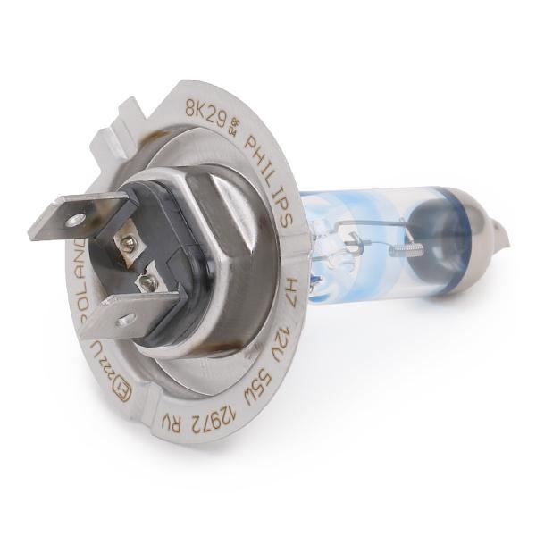 Glühlampe, Fernscheinwerfer 12972RVB1 PHILIPS H7 in Original Qualität