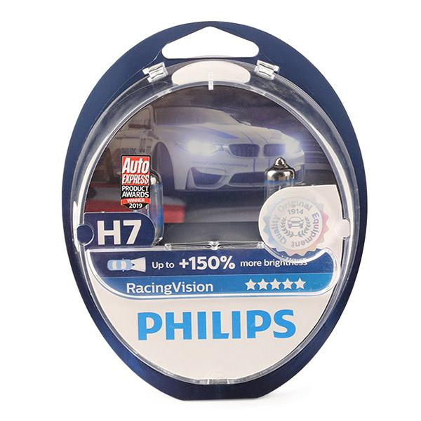 Glühlampe, Fernscheinwerfer 12972RVS2 PHILIPS H7 in Original Qualität