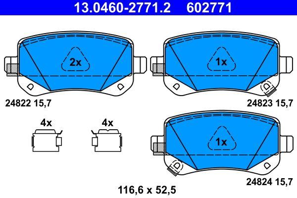 Bremsbelagsatz ATE 24823 Bewertung
