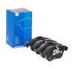 OEM Комплект спирачно феродо, дискови спирачки ATE 24326 за JAGUAR