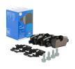 OEM Bremsbelagsatz, Scheibenbremse ATE 25981 für MINI