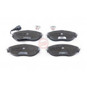 Brake Pad Set, disc brake Width: 175,0mm, Height: 70,0mm, Thickness: 20,0mm with OEM Number 3C0698151G