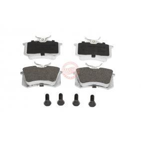 Bremsbelagsatz, Scheibenbremse Breite: 87,6mm, Höhe: 52,9mm, Dicke/Stärke: 17,2mm mit OEM-Nummer 7M0 698 451.