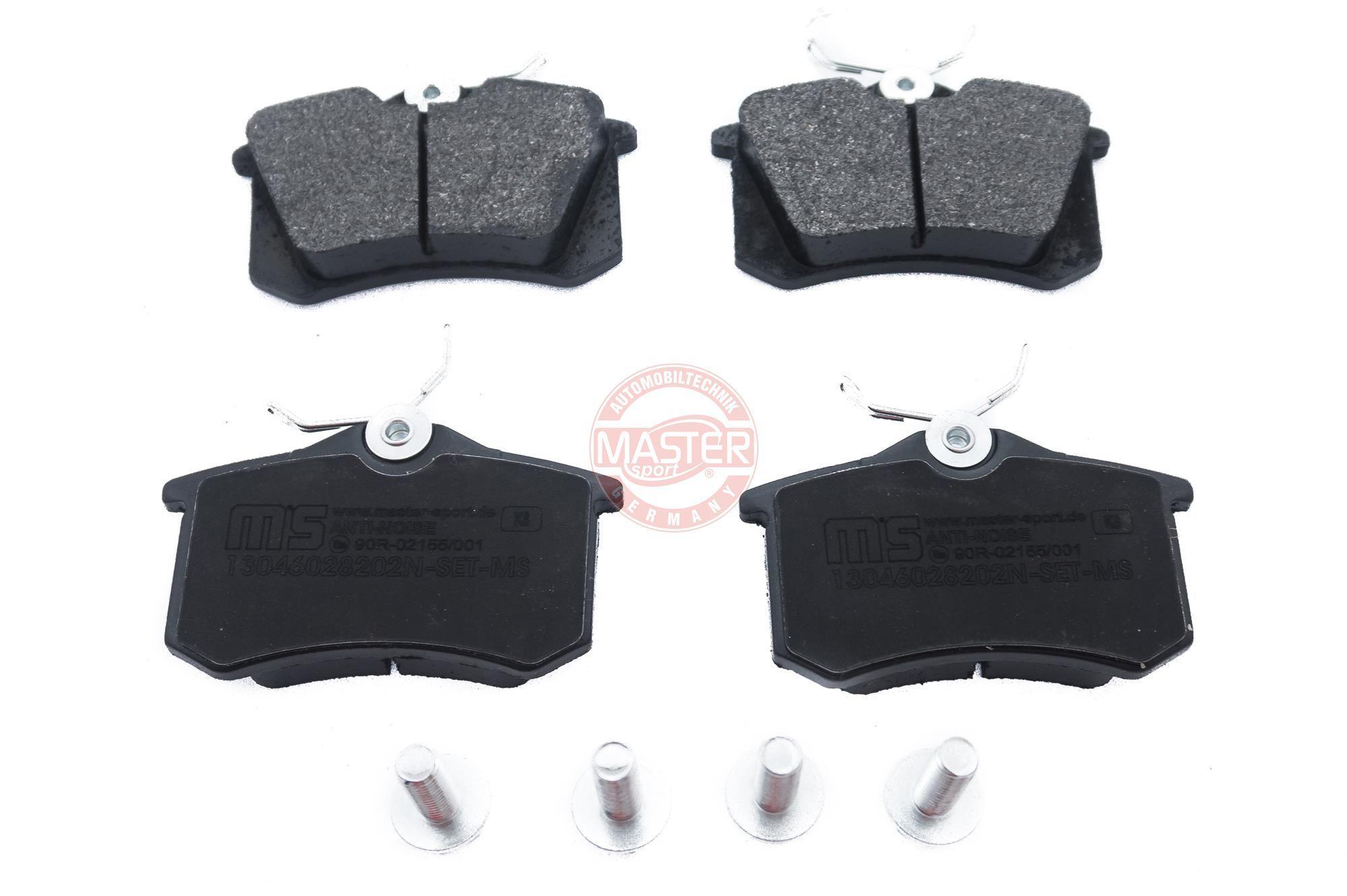 Bremsbeläge 13046028202N-SET-MS MASTER-SPORT 236028202 in Original Qualität