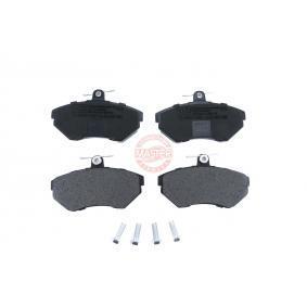 Bremsbelagsatz, Scheibenbremse Breite: 119,1mm, Höhe: 69,5mm, Dicke/Stärke: 16,0mm mit OEM-Nummer 1HM 698 151