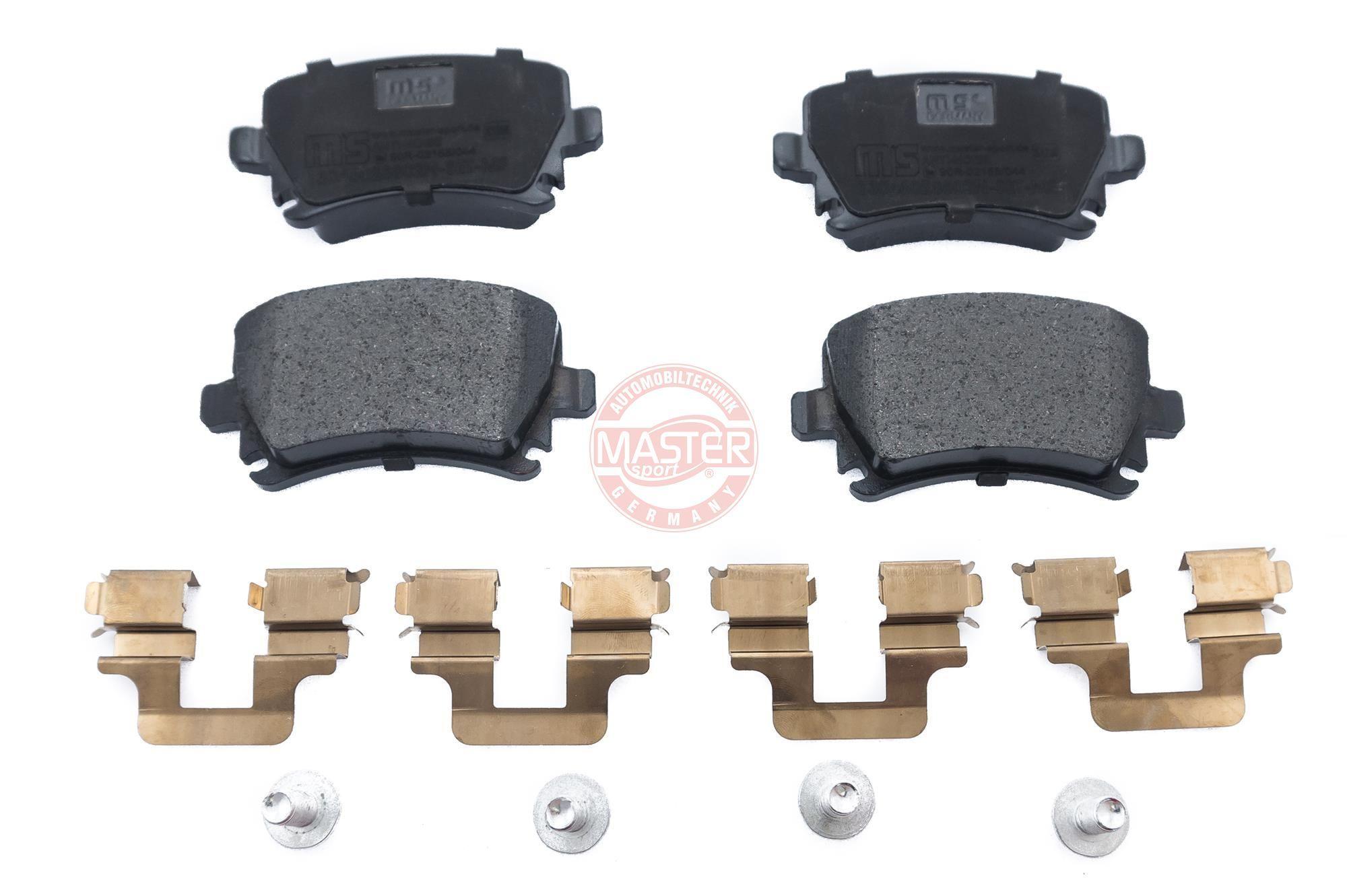 Bremsbeläge 13046028802N-SET-MS MASTER-SPORT 23914 in Original Qualität