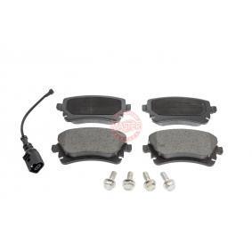 2013 T5 Transporter 2.0 TDI Brake Pad Set, disc brake 13046028822N-SET-MS