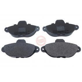 Brake Pad Set, disc brake 13046039502N-SET-MS PANDA (169) 1.2 MY 2010
