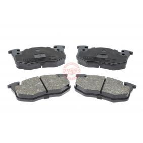 2007 Twingo c06 1.2 Brake Pad Set, disc brake 13046039532N-SET-MS