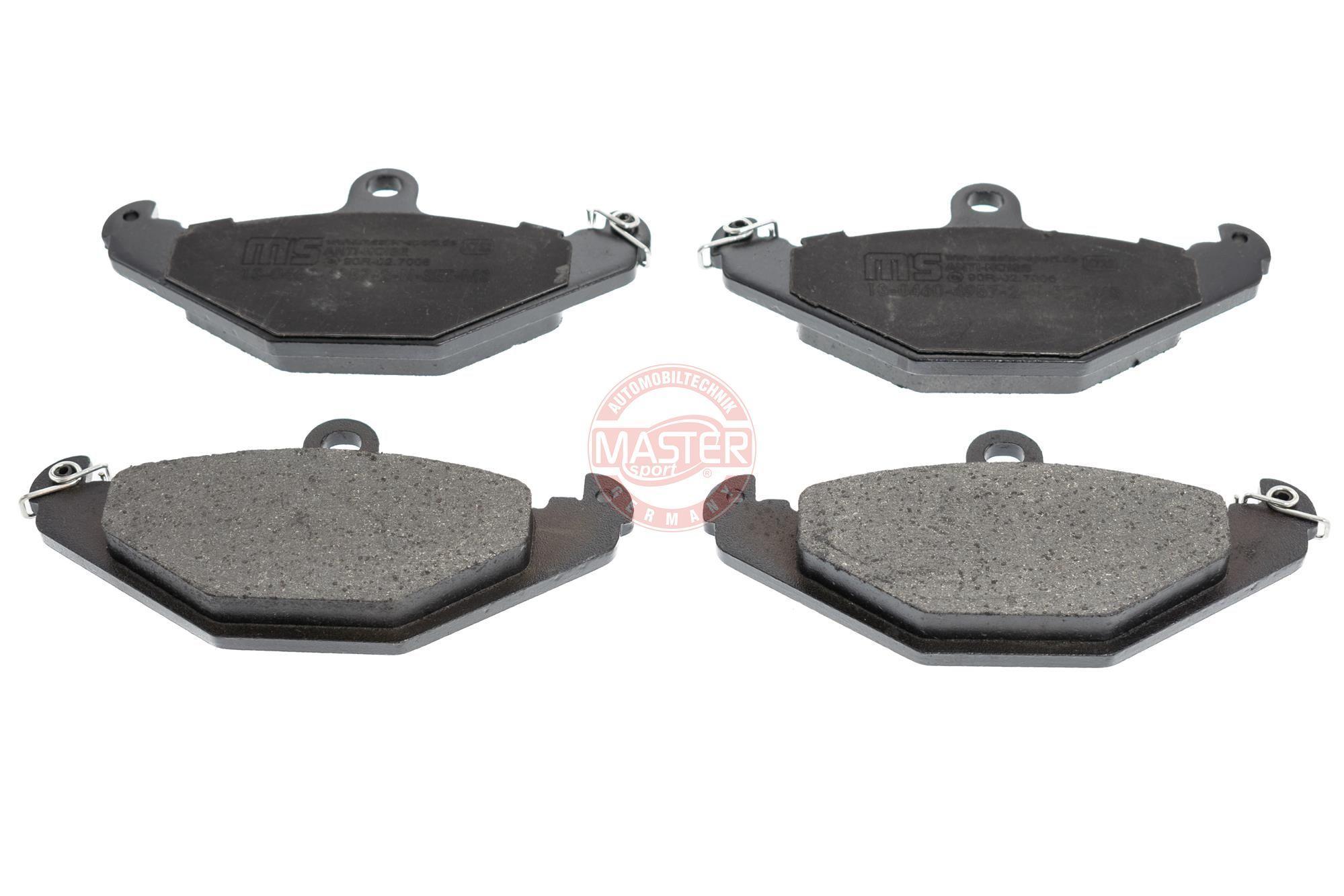 Bremsbeläge 13046049572N-SET-MS MASTER-SPORT 236049572 in Original Qualität
