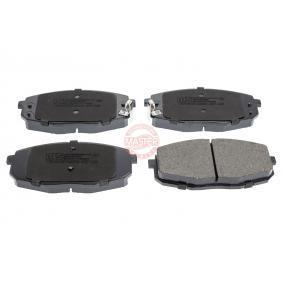 2010 KIA Ceed ED 1.6 CRDi 90 Brake Pad Set, disc brake 13046057422N-SET-MS