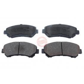 2013 Nissan Qashqai j10 1.5 dCi Brake Pad Set, disc brake 13046057522N-SET-MS