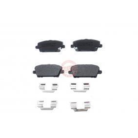 Brake Pad Set, disc brake 13046057562N-SET-MS CIVIC 8 Hatchback (FN, FK) 2.2 CTDi (FK3) MY 2010