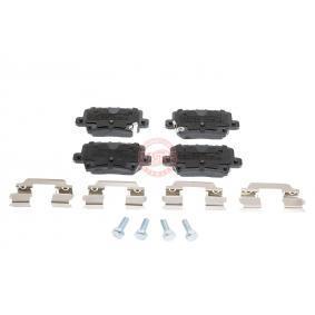 Brake Pad Set, disc brake 13046057572N-SET-MS CIVIC 8 Hatchback (FN, FK) 2.2 CTDi (FK3) MY 2012