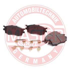 2007 Kia Rio JB 1.6 CVVT Brake Pad Set, disc brake 13046057792N-SET-MS
