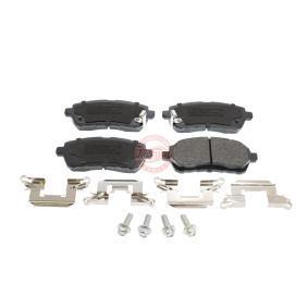 Bremsbelagsatz, Scheibenbremse Breite: 125,4mm, Höhe: 51,4mm, Dicke/Stärke: 15,5mm mit OEM-Nummer 24285