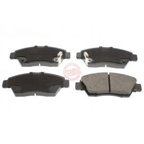 Honda Civic eu7 1.6i Bremsbeläge MASTER-SPORT 13046058202N-SET-MS (1.6i Benzin 2002 D16W7)