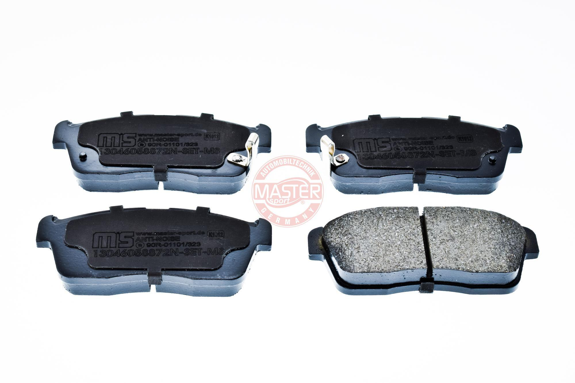 Bremsbeläge 13046058722N-SET-MS MASTER-SPORT 236058722 in Original Qualität