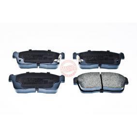 Bremsbelagsatz, Scheibenbremse Breite: 127,5mm, Höhe: 49,0mm, Dicke/Stärke: 15,0mm mit OEM-Nummer 58101-1CA10
