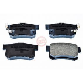 Brake Pad Set, disc brake 13046059292N-SET-MS CIVIC 7 Hatchback (EU, EP, EV) 2.0 Type-R MY 2004
