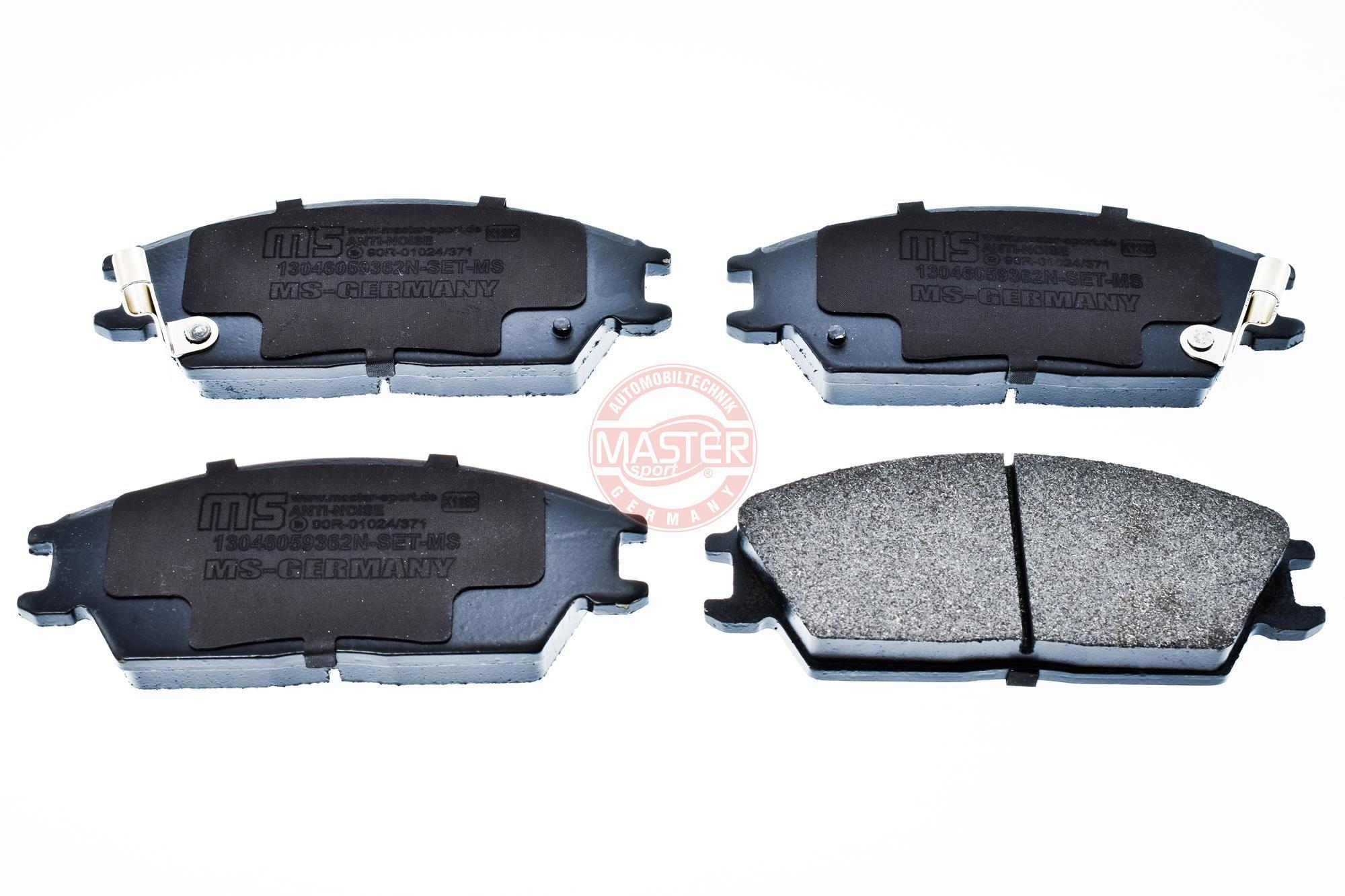 Bremsbeläge 13046059362N-SET-MS MASTER-SPORT 236059362 in Original Qualität