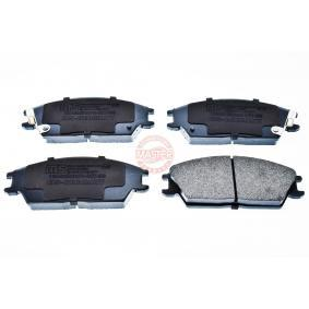 Bremsbelagsatz, Scheibenbremse Breite: 127,5mm, Höhe: 49,0mm, Dicke/Stärke: 15,0mm mit OEM-Nummer 5810124B00