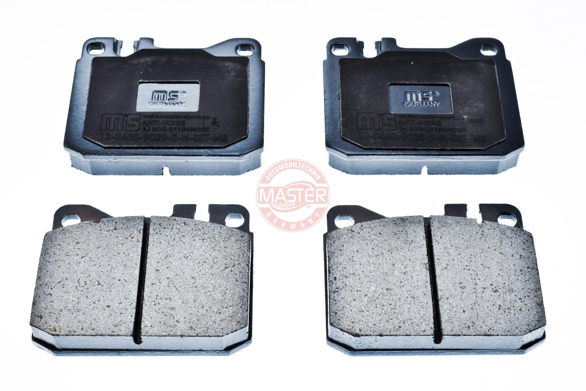 Bremsbeläge 13046090292N-SET-MS MASTER-SPORT 236090292 in Original Qualität