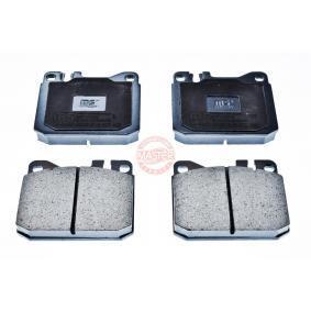 Bremsbelagsatz, Scheibenbremse Breite: 89,6mm, Höhe: 73,8mm, Dicke/Stärke: 16,7mm mit OEM-Nummer A 000 420 9520