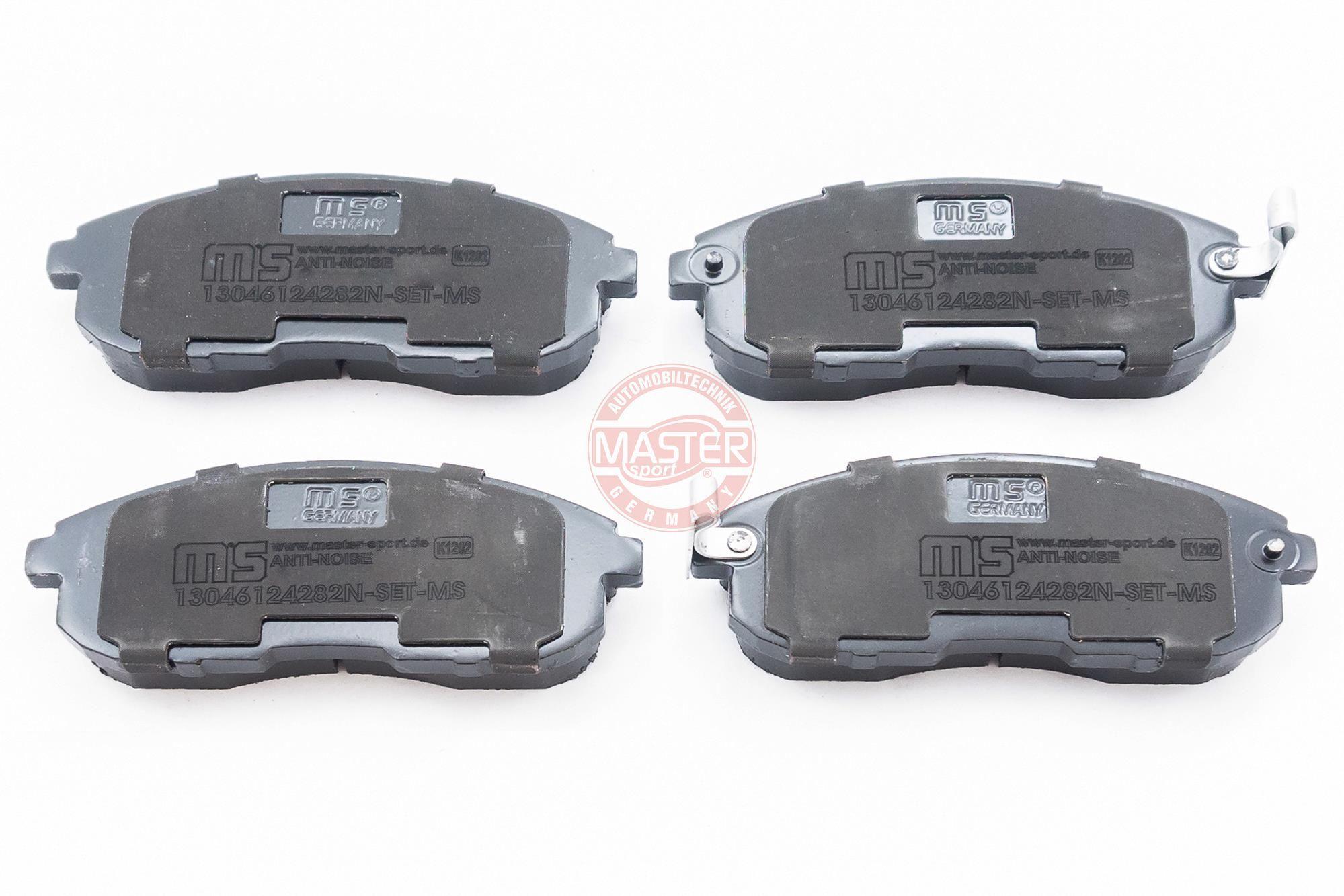 Bremsbeläge 13046124282N-SET-MS MASTER-SPORT 236124282 in Original Qualität