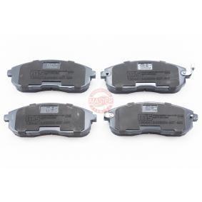 Nissan Juke f15 1.6 Bremsbeläge MASTER-SPORT 13046124282N-SET-MS (1.6 Benzin 2019 HR16DE)