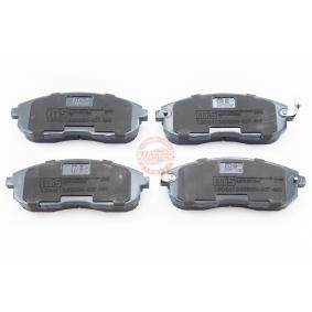 Nissan Juke f15 1.2 DIG-T Bremsbeläge MASTER-SPORT 13046124282N-SET-MS (1.2 DIG-T Benzin 2021 HRA2DDT)