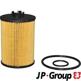 JP GROUP  1318501900 Ölfilter Ø: 57mm, Innendurchmesser: 27mm, Höhe: 90mm