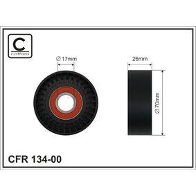 Spannrolle, Keilrippenriemen Breite: 26mm mit OEM-Nummer 68021256AA