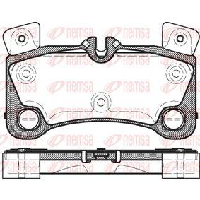 Bremsbelagsatz, Scheibenbremse Höhe: 77mm, Dicke/Stärke: 16,2mm mit OEM-Nummer 955.352.939.61