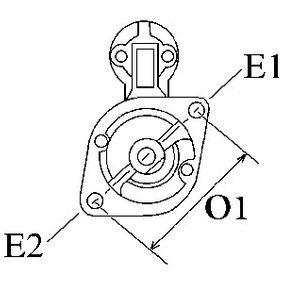 Läufer, Generator mit OEM-Nummer A 008 154 96 02