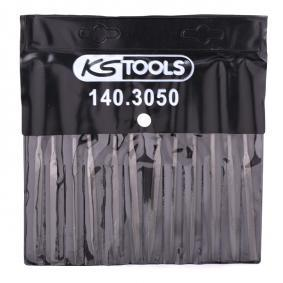 KS TOOLS Zestaw pilników 140.3050