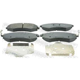Bremsbelagsatz, Scheibenbremse Breite: 137mm, Höhe: 54,5mm, Dicke/Stärke: 16mm mit OEM-Nummer 58101-38A00