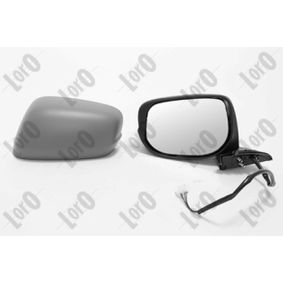 ABAKUS Side view mirror Left, Electric, Convex, Electronically foldable, Primed