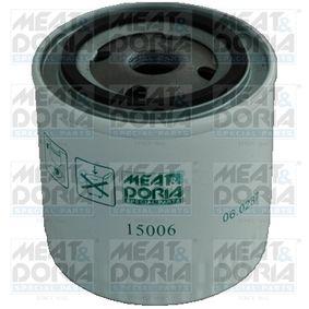 MEAT & DORIA  15006 Ölfilter Ø: 93mm, Höhe: 95mm