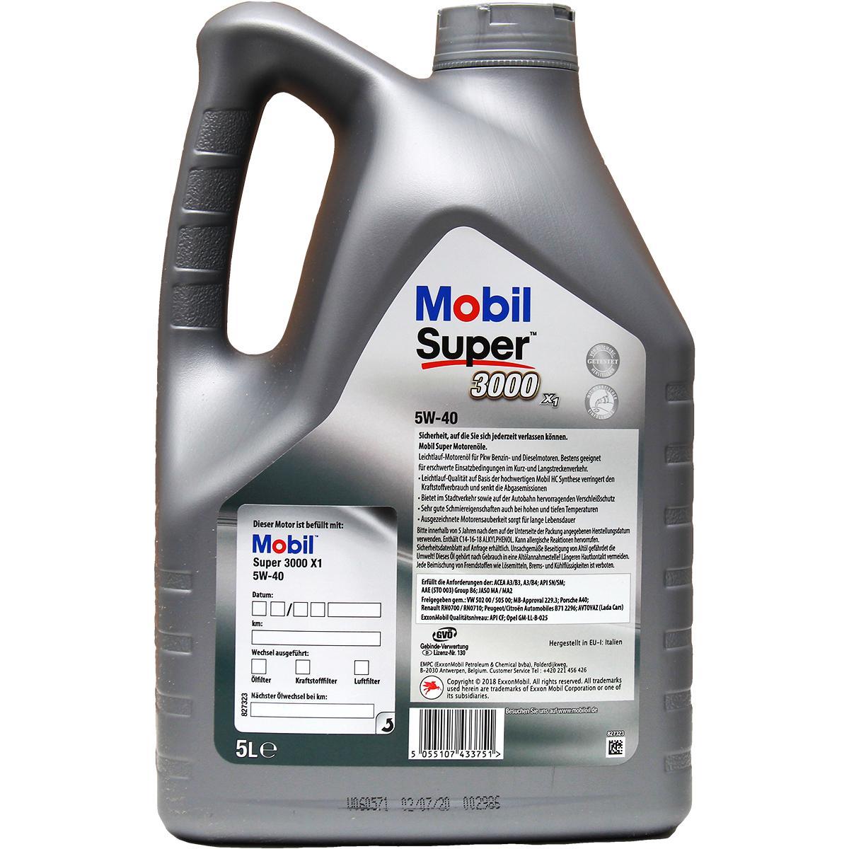 Engine Fluid MOBIL GMLLB25 rating