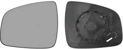 Außenspiegelglas 1507831 VAN WEZEL 1507831 in Original Qualität