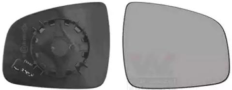 Außenspiegelglas 1507838 VAN WEZEL 1507838 in Original Qualität