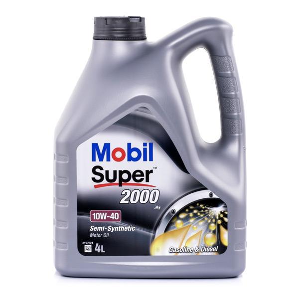 Aceite de motor MOBIL VW50500 conocimiento experto