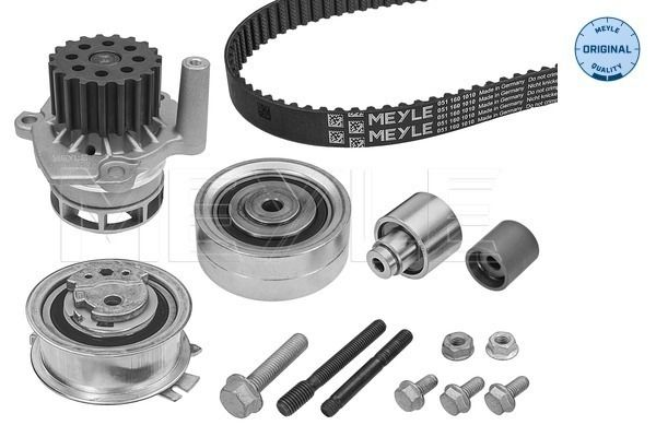 MEYLE  151 049 9005 Kit cinghia distribuzione, pompa acqua Lunghezza: 1524mm, Largh.: 25mm