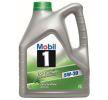 MOBIL Motorenöl VW 507 00 5W-30, 5W-30, Inhalt: 4l, Synthetiköl