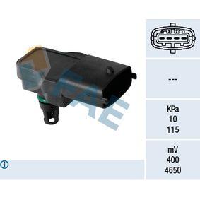 Sensor, intake manifold pressure 15145 PUNTO (188) 1.2 16V 80 MY 2002